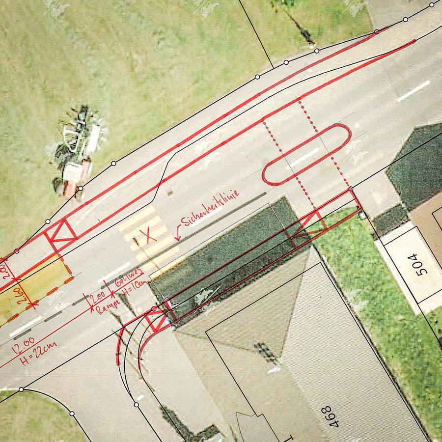 ADUplan Bauingenieur Bushaltestellen B3