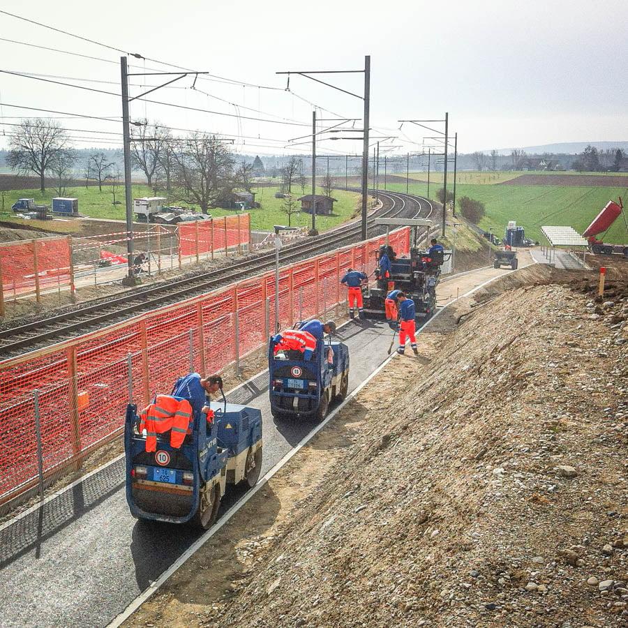 ADUplan Bauingenieur Fussgangerverkehr Veloverkehr R8
