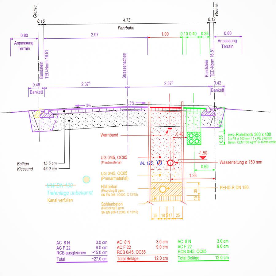 ADUplan Bauingenieur Tiefbau und Strassenbau