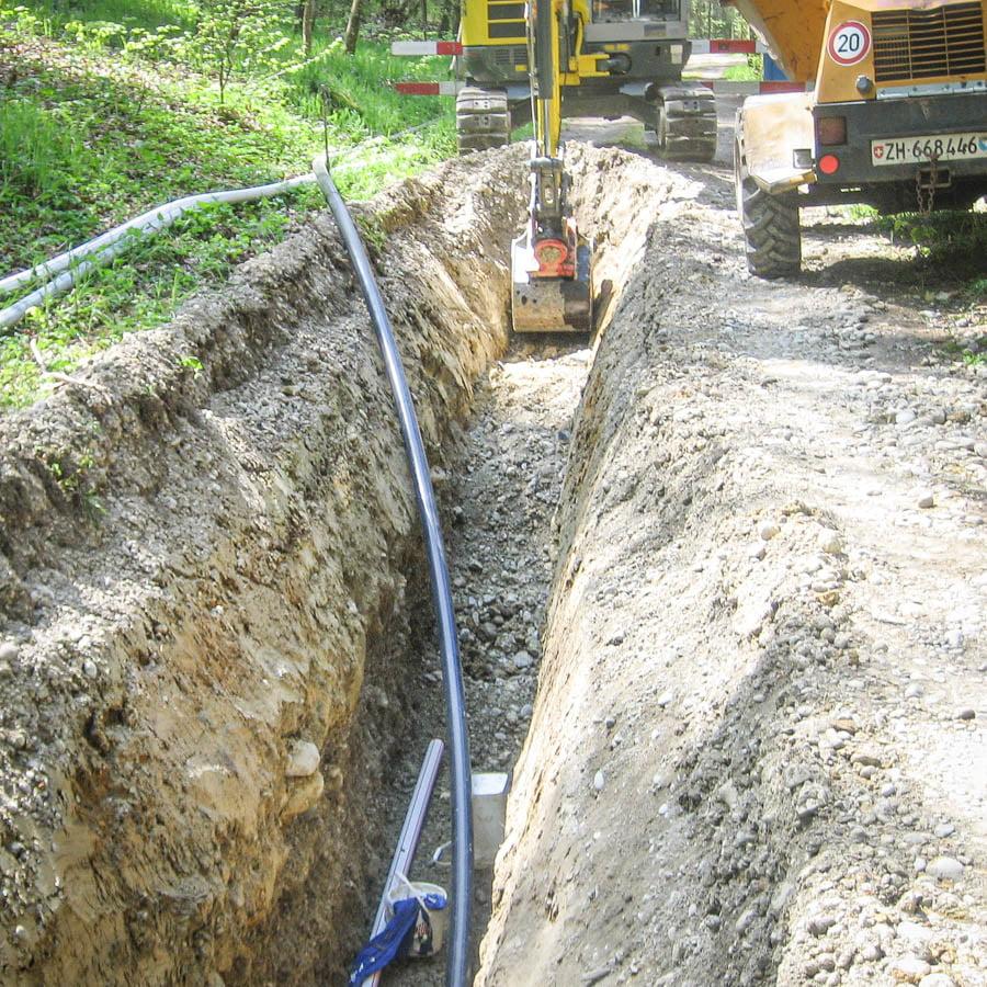 ADUplan Bauingenieur Werkleitungsbau Kanalbau WK3