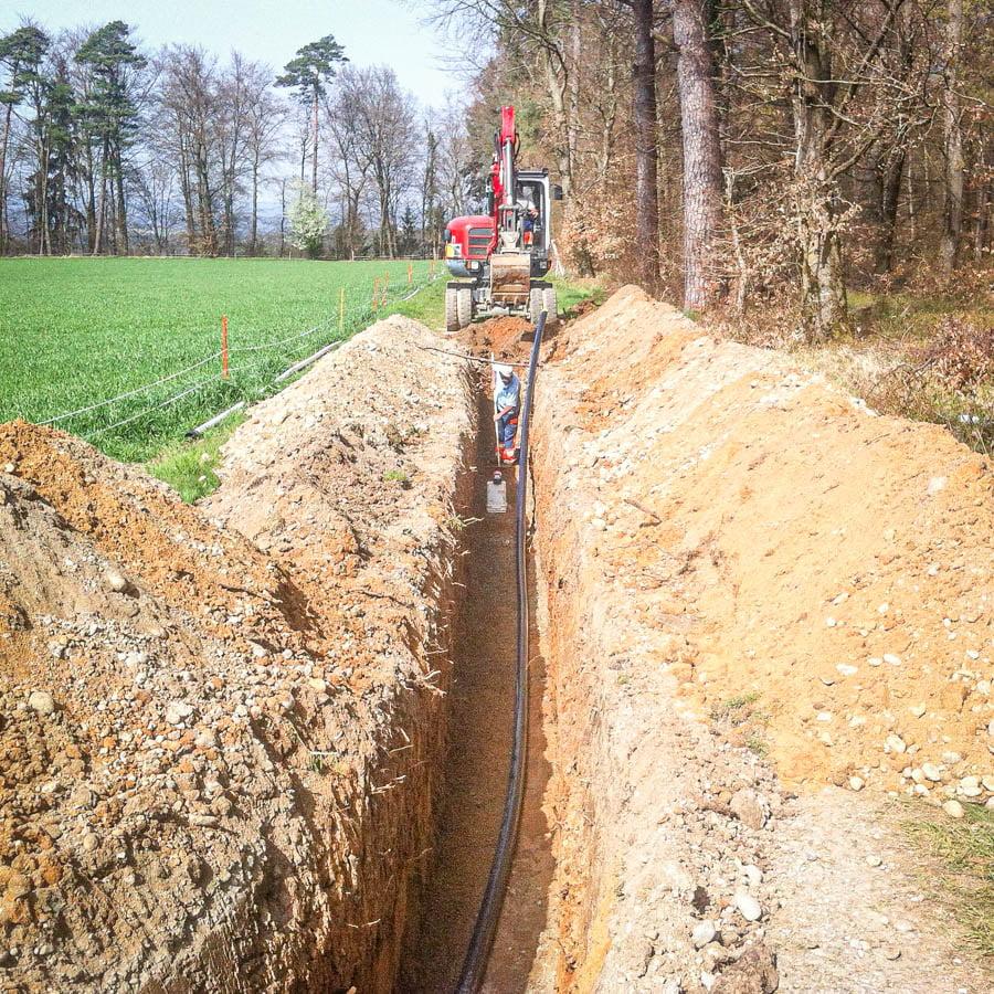 ADUplan Bauingenieur Werkleitungsbau Kanalbau WK6