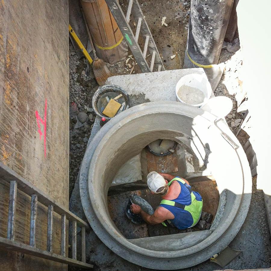 ADUplan Bauingenieur Werkleitungsbau Kanalbau WK8